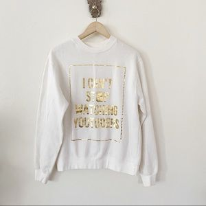 Tops - I Can't Stop Watching Youtubers Crewneck Pullover